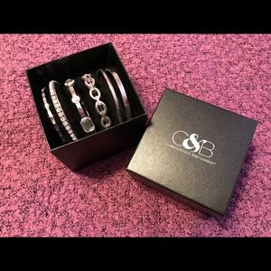 NIB Set of 6 Bangle Bracelets
